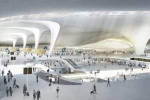 Inside Beijing's new $12 billion mega-airport