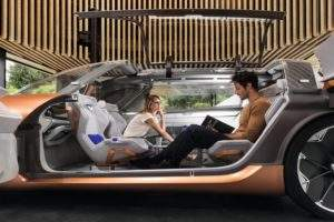 Symbioz − the connected concept car that doubles as a room in your house