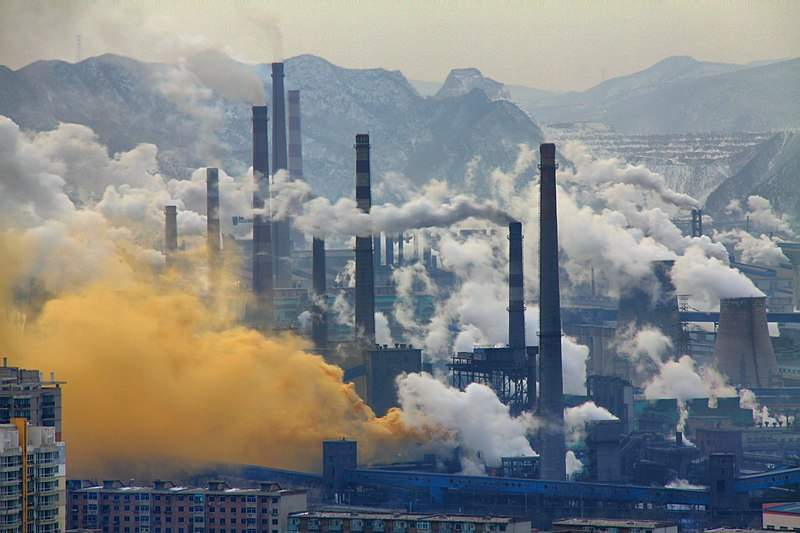 Benxi steel industries, China (Credit: Wikipedia Commons)