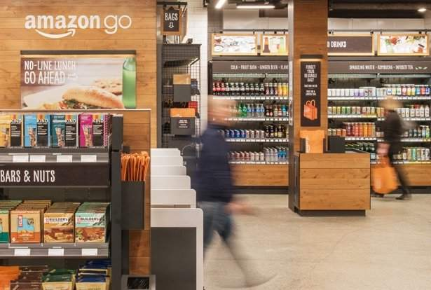 Amazon Go, cashless society Amazon predictions, cashierless