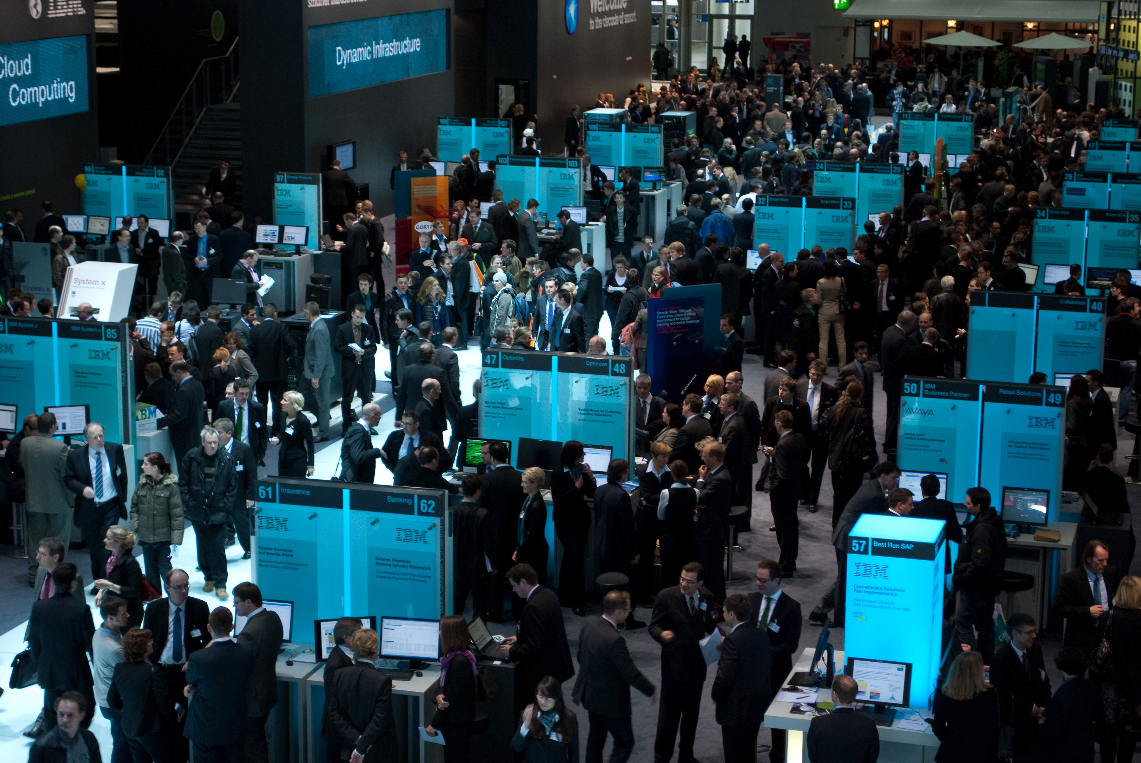 Business exhibitions - IBM CeBIT 2010