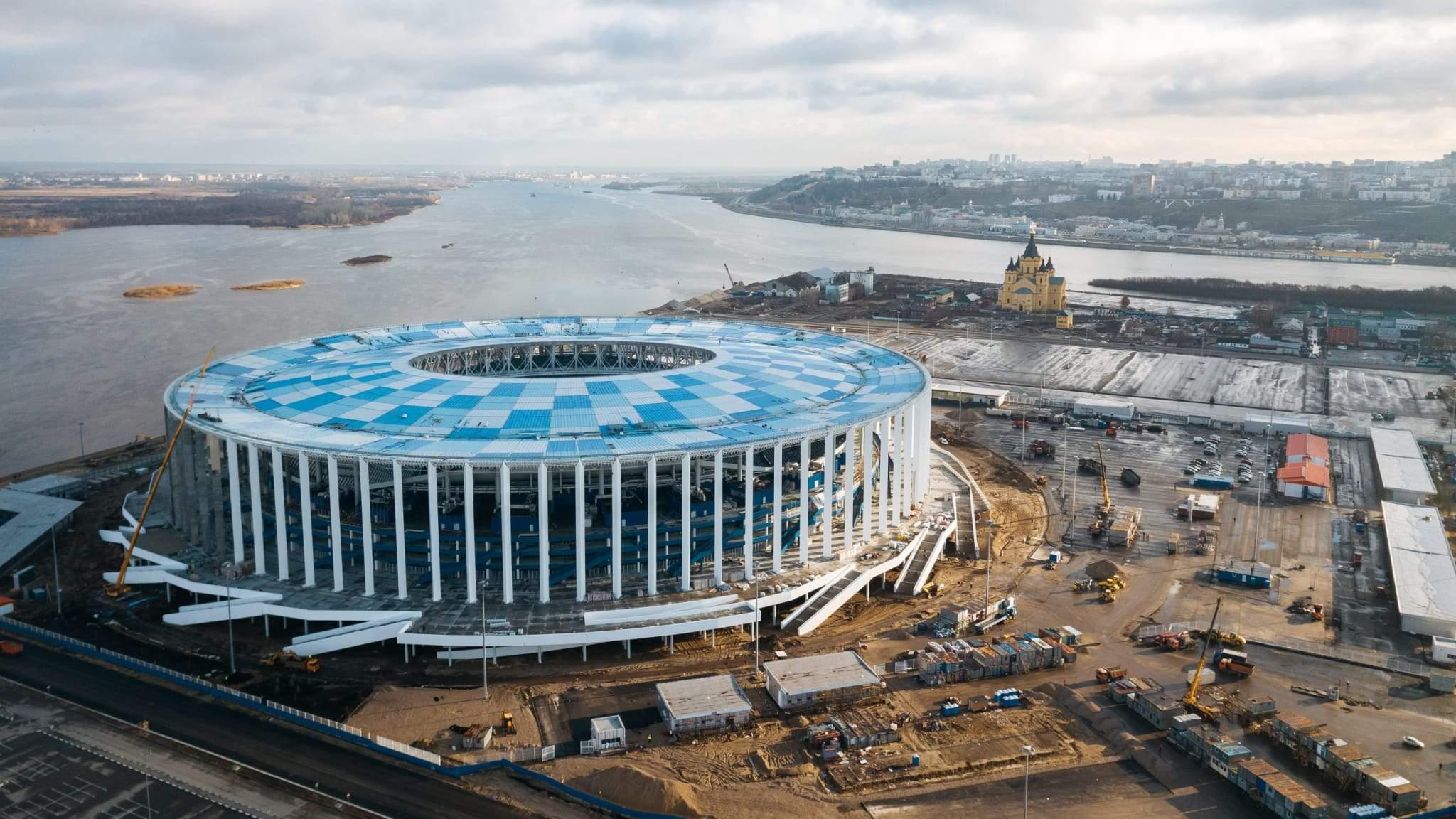 Russia World Cup 2018 Nizhny Novgorod Stadium