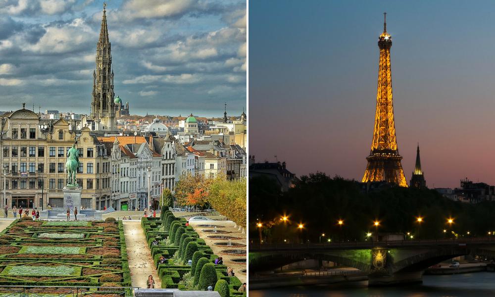 Belgium v France
