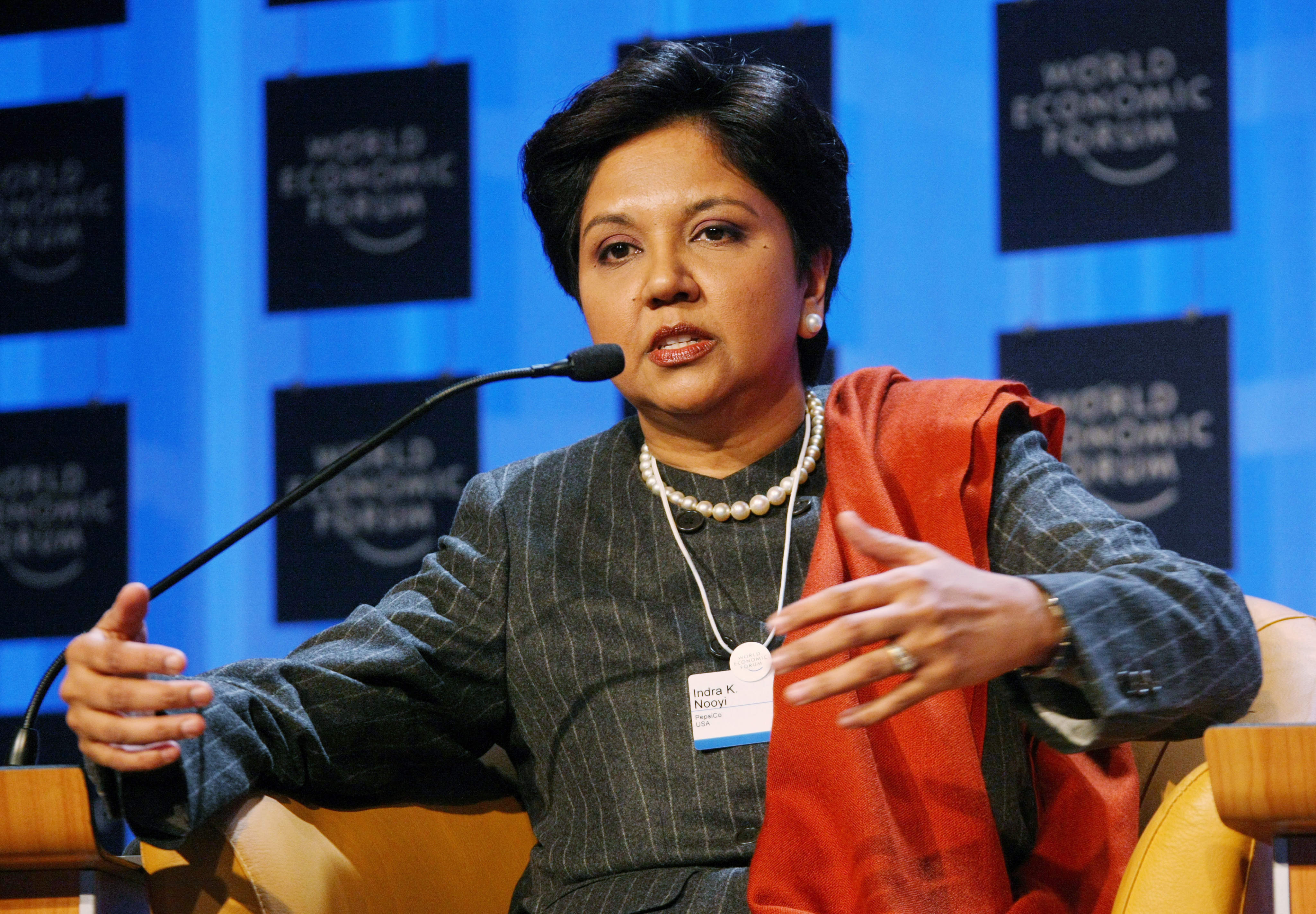 Impression of the Annual Meeting 2008: Indra K. Nooyi