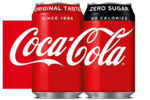 Coca-Cola's new packaging unifies original and zero sugar soft drinks
