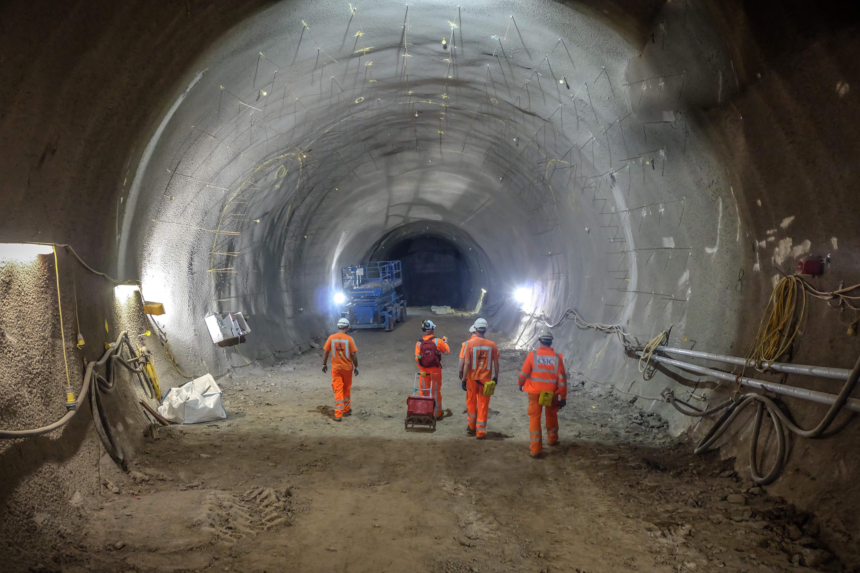 Crossrail construction
