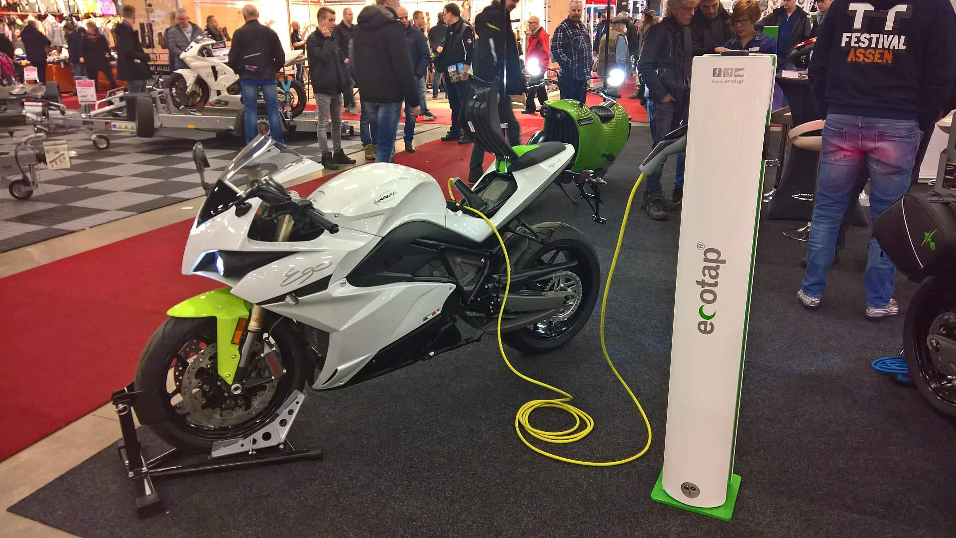 Energica Ego at TT-Hall motor show 2018