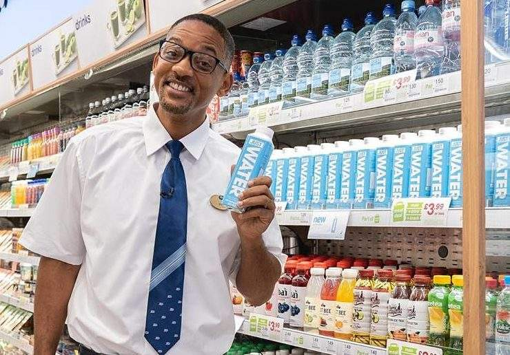 Will Smith is trying to help save the world – this time through 'ethical' brand Just Water