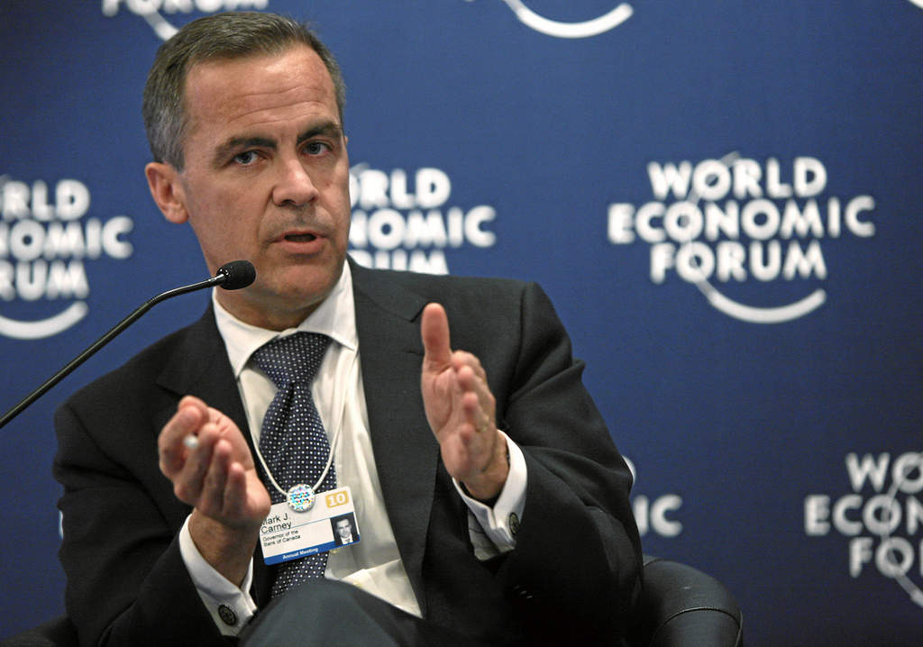 Mark Carney, Bank of England, interest rates