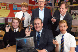 Scottish school becomes world's first to have new LiFi wireless internet tech fitted by PureLiFi