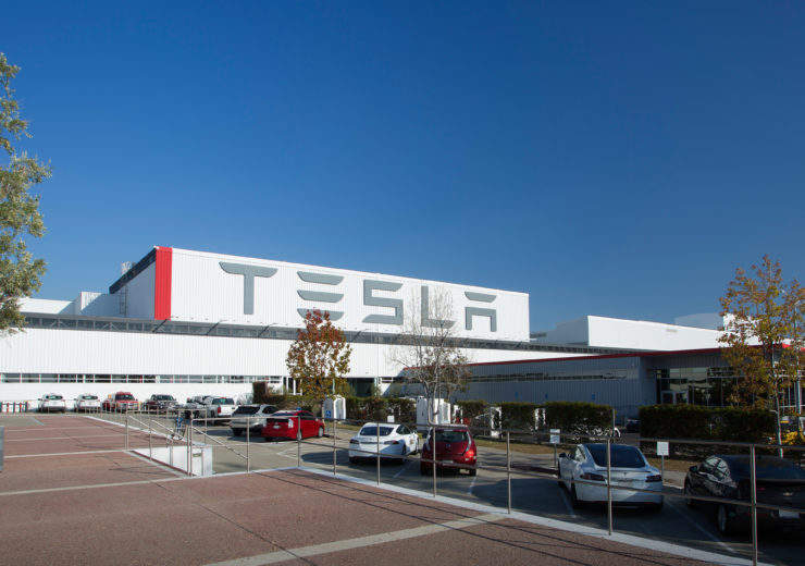 Tesla factory California