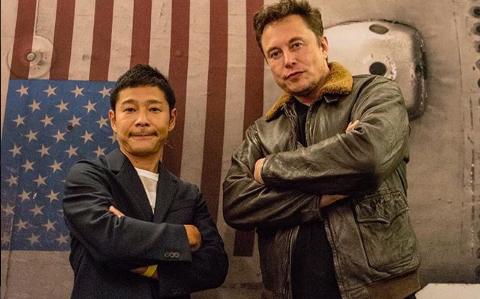 Elon Musk space x trip