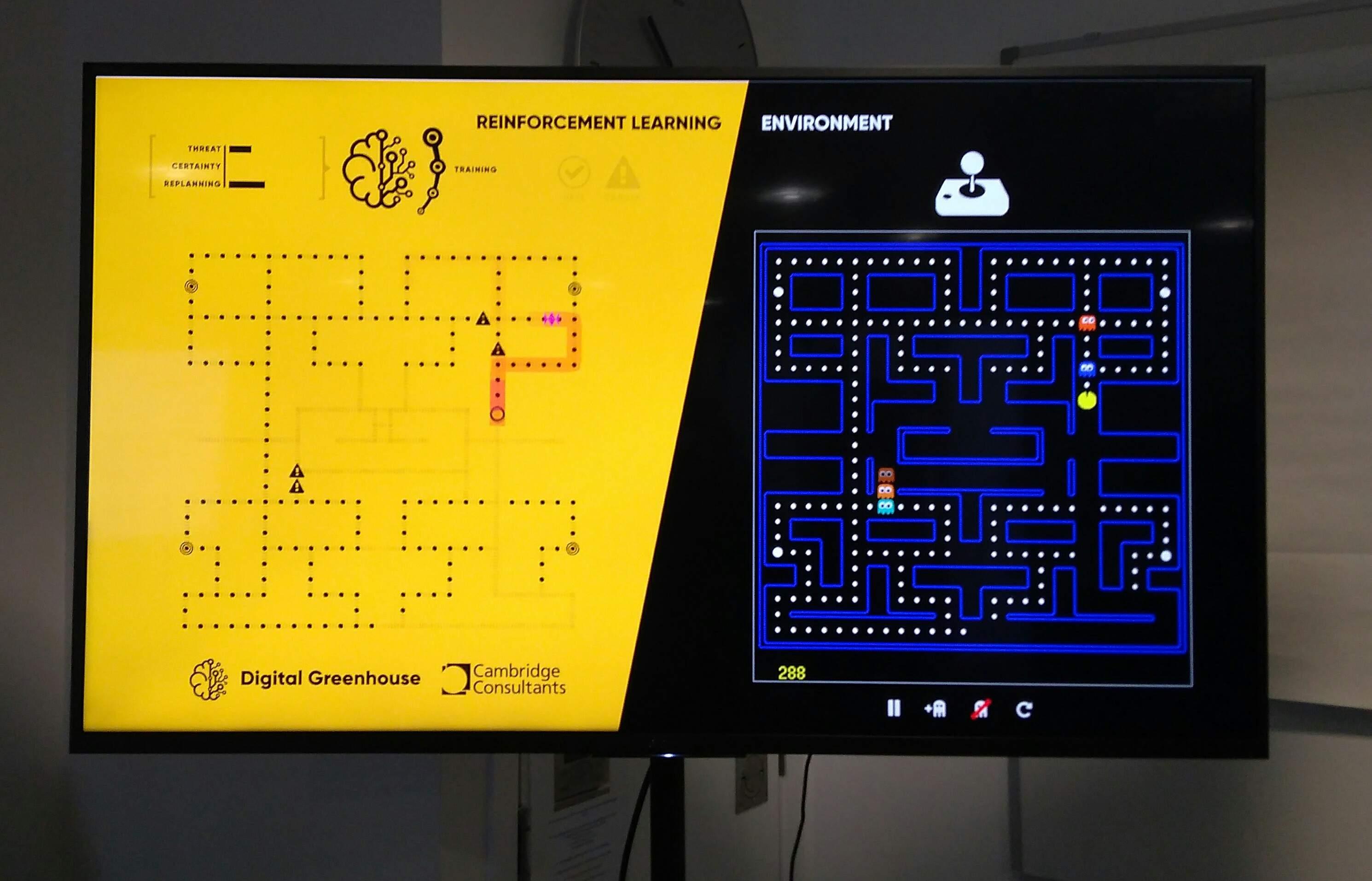 Pacman AI bot