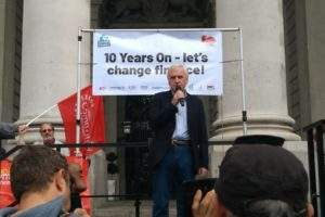 John McDonnell Q&A: Shadow Chancellor's plans for banking reform 10 years after the financial crash