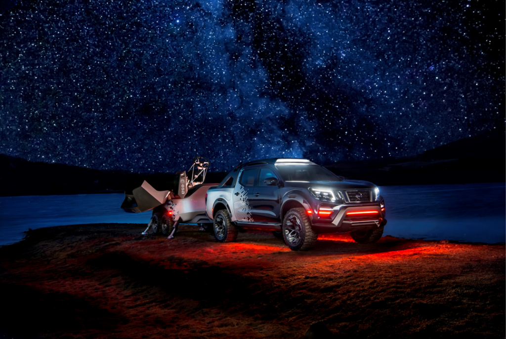 nissan mobile space observatory
