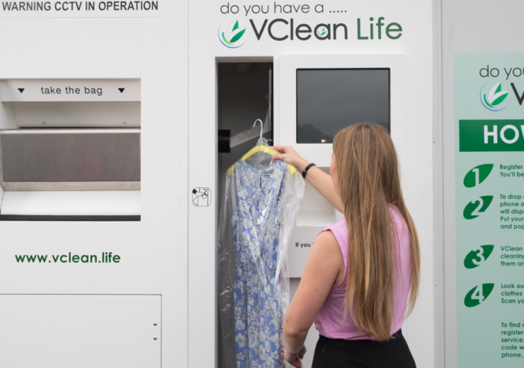 The machines, powered by VClean, aim to clean up the UK's dry cleaning sector by bringing it into the 21st century. (Credit: David Parry/PA Wire)
