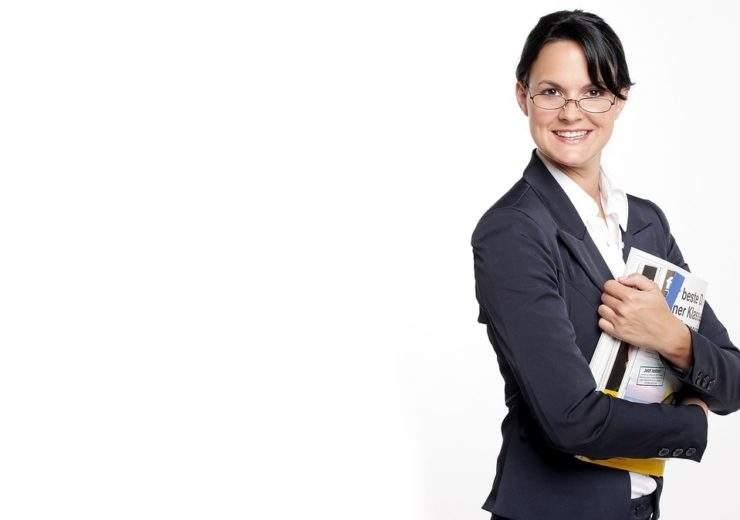 Woman Secretary Business Business Woman Female