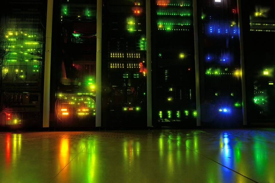data centre, energy use in data centres