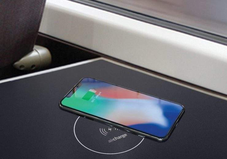 Aircharge train installation