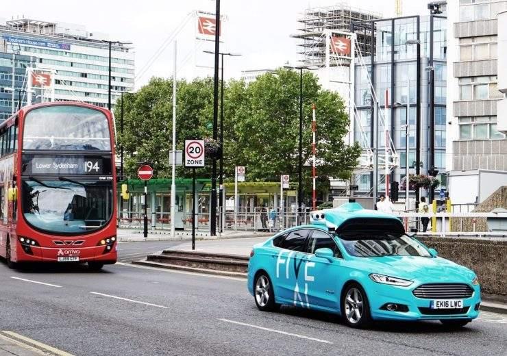 FiveAI driverless car