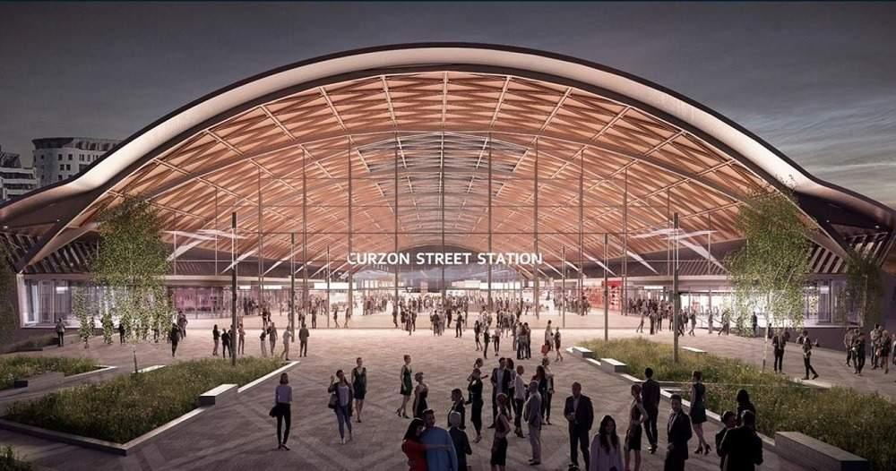 HS2 Birmingham Curzon Street station