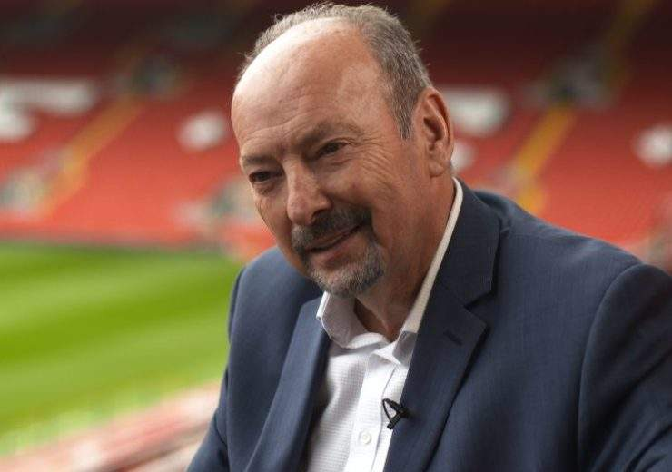 Liverpool CEO Peter Moore at Anfield (Credit: Liverpool FC)