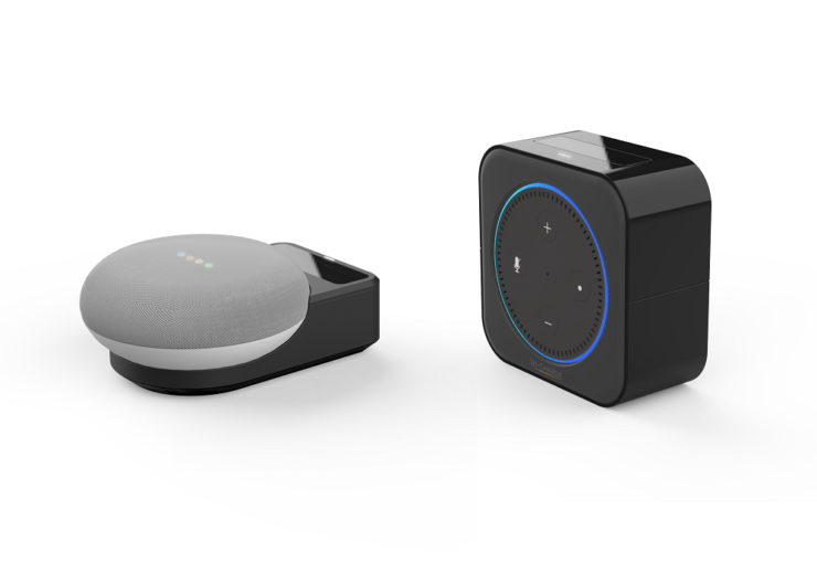 Side by side with Wi-charge wireless power cradles