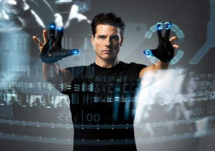 Tom Cruise uses gesture control in Minority Report (‎20th Century Fox: 2002)