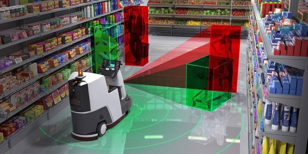 autonomous warehouse robots