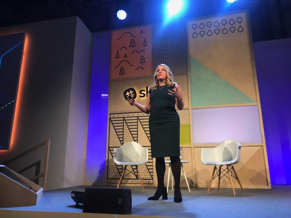 April Underwood, chief product officer at Slack
