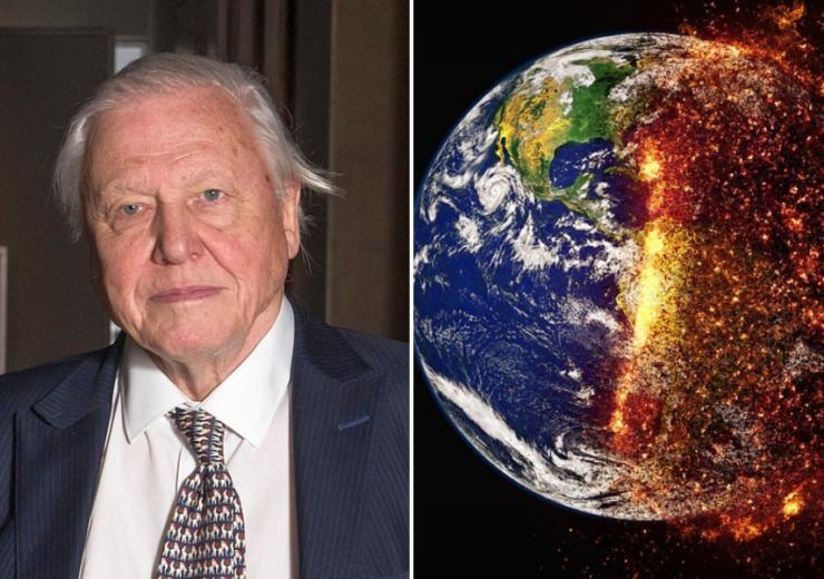 David Attenborough climate change
