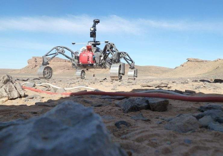 mars self-driving robot
