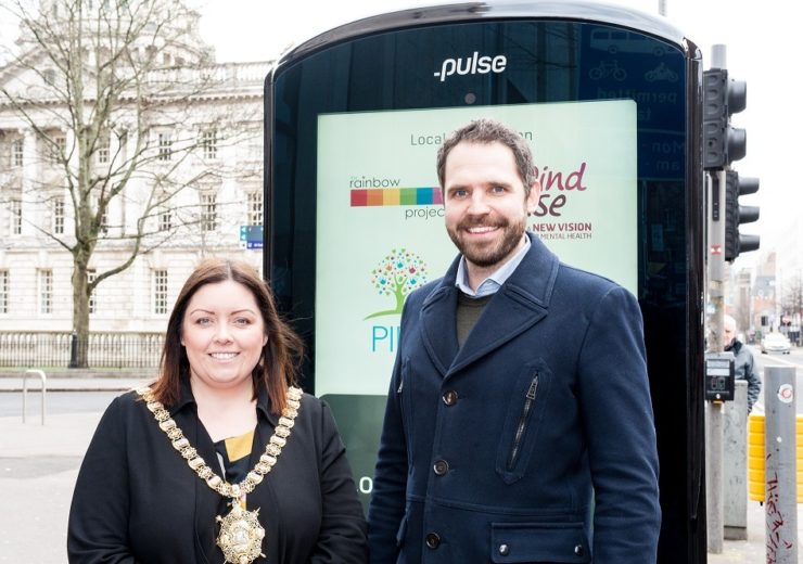 How new smart street furniture in Belfast could save lives, clean air and help tourists