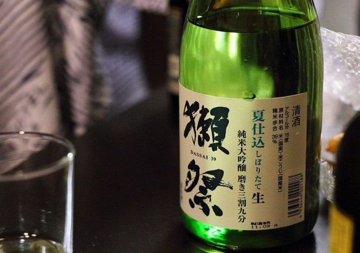 AI is now being used in the brewing process of Dassai the Asahi brand of sake - the national drink of Japan (Credit: T-Mizo/Flickr)