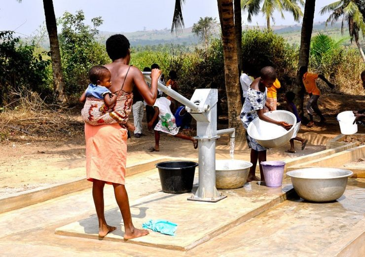 Water pump provided by USAID in Africa (Credit: USAID)