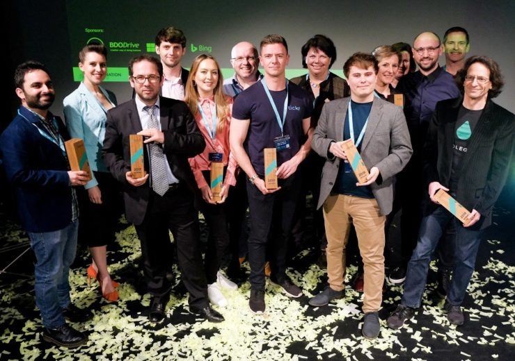 The winners of the Tech Nation new Rising Stars competition (Credit: Tech Nation)