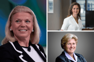 Nine of the world's most powerful women in business – including CEOs of IBM, Bet365 and Oracle