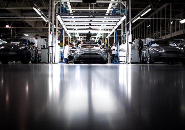 The construction of Aston Martin's Lagonda brand of luxury cars will continue in the UK, regardless of the Brexit outcome (Credit: Aston Martin Lagonda)