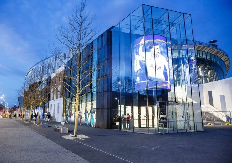 Tottenham Hotspur's new stadium utilises the latest technology to enhance the fan experience (Credit: Tottenham Hotspur FC)
