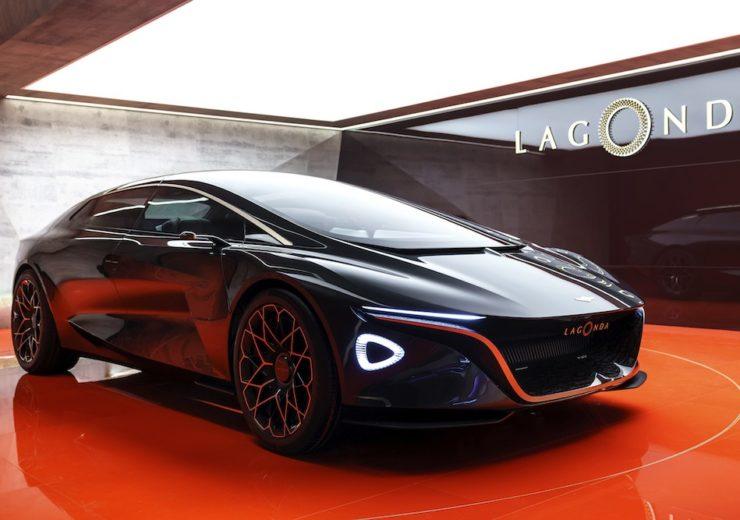 One of Lagonda's concept cars at the Geneva Motor Show (Credit: Aston Martin Lagonda)