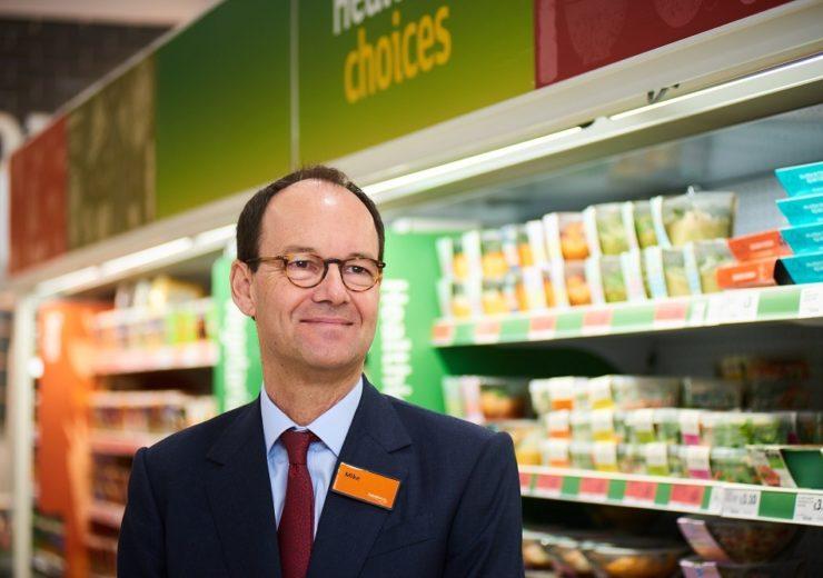 Sainsbury's CEO Mike Coupe (Credit: Sainsbury's)