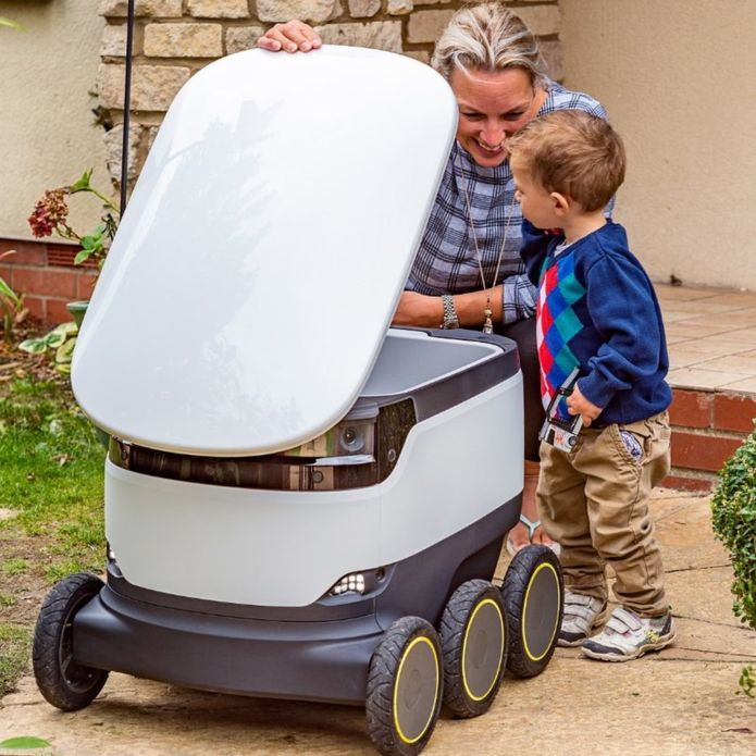 delivery robots, delivery future