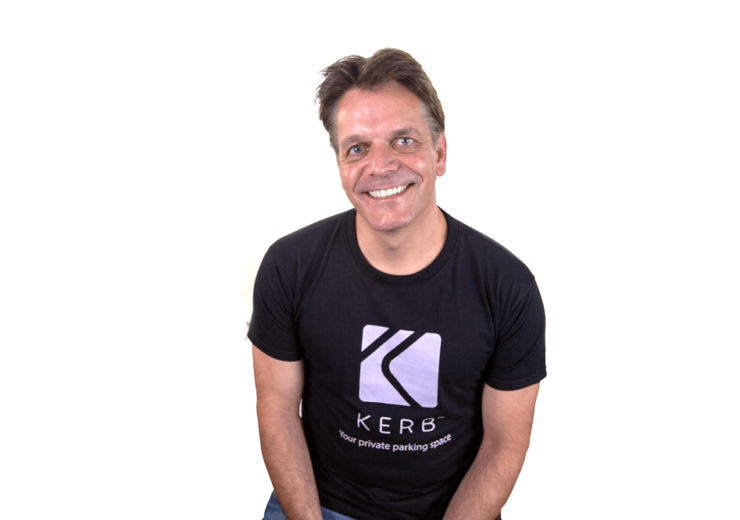 Kerb parking app founder Rob Brown