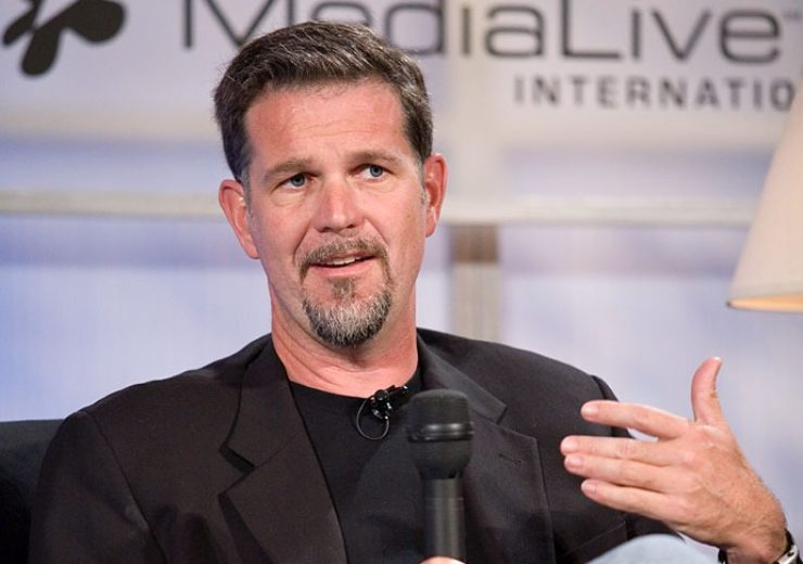 Reed Hastings at Web 2.0 Conference, 2005 (Credit: Wikimedia Commons)