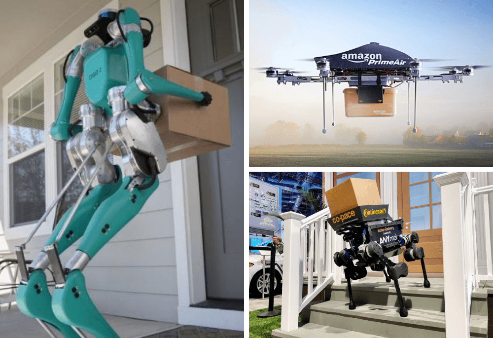 From drones to mechanical dogs, these robots could be delivering your parcels soon