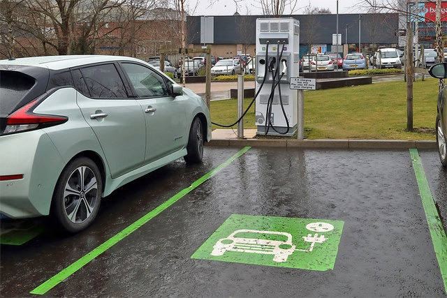 electric vehicles smart charging, AI climate change, green number plate