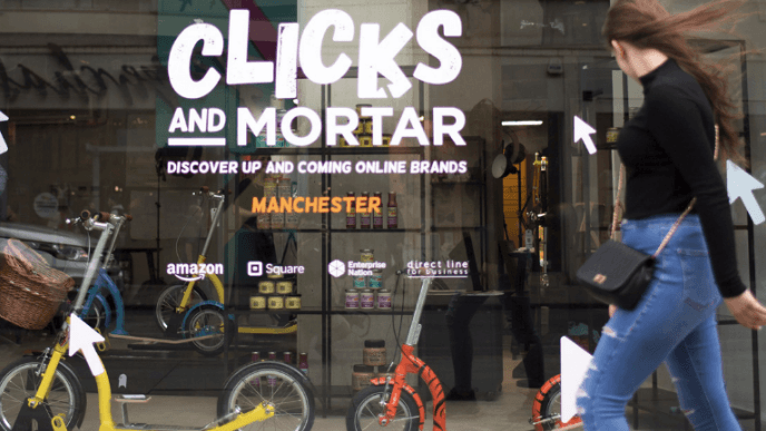 clicks and mortar, small business website