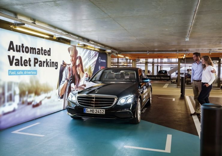 World premiere of the autonomous parking technology in the multi-storey car park of the Mercedes-Benz Museum (Credit: Daimler)