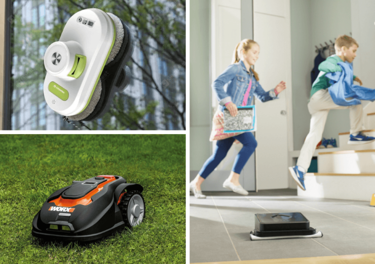Robotic mops and lawnmowers promise to take the hassle out of maintaining the home