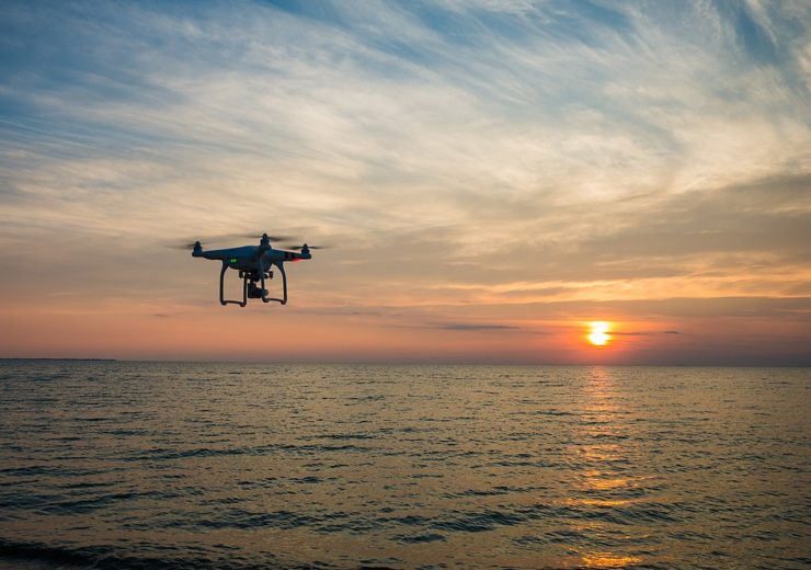 Drones could be used to help monitor the UK's coastline (Credit: Wikimedia Commons)